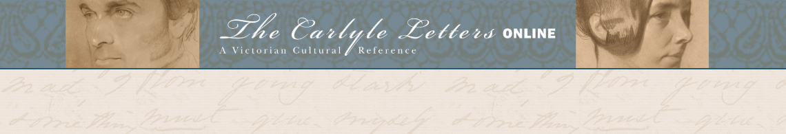 Carlyle Letters